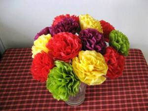 tissue flowers 1