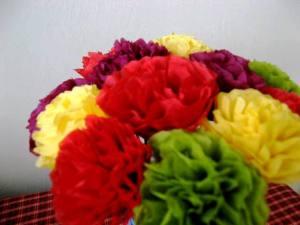 tissue flowers 3