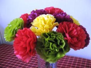 tissue flowers 2