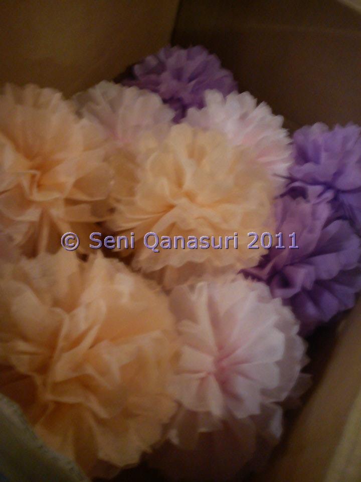 Gubahan Bunga Pasu Seni Qanasuri