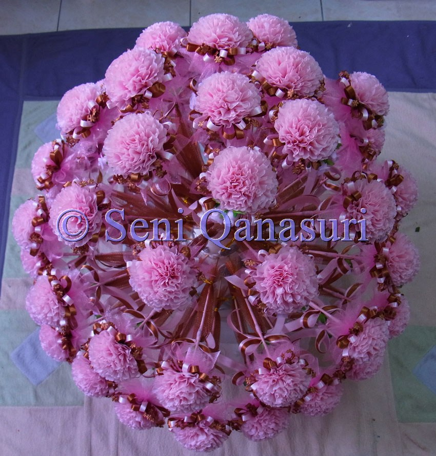 Tempahan oleh Nurin dari Sentul…100pcs bunga telur tangkai saiz S