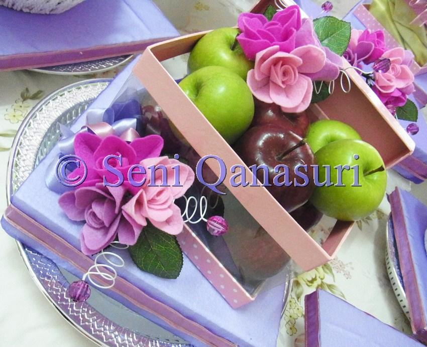 Gubahan Hantaran : Pink + Shocking Purple + Lilac  Seni